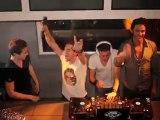 Thomas, Sacha, Yoann et Alice au Mystik Club