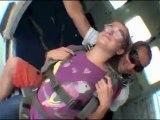 2ème saut parachute Marion 27/11/2012