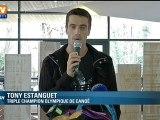 Canoë : Tony Estanguet annonce la fin à sa carrière