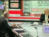 29/11 BFM : Le Grand Journal d'Hedwige Chevrillon -  Alain Rousset et Bernard Van Craeynest 1/4