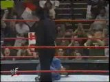 Jim Ross kicks Michael Cole in the nuts