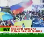 Russia sweeps into Euro 2008 playoffs
