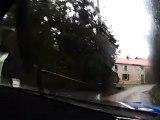 Eric Brunson David Heulin Rallye du Condroz 2012 ES3 Wanze Subaru WRC S12B