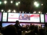 Fin du Congres du Parti Socialiste à Toulouse 28 octobre 2012