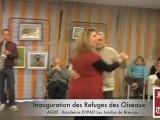 AGDE - 2012 - « Les Jardins de Brescou » est devenu officiellement refuge pour la Ligue de Protection des Oiseaux (LPO)