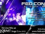 Fed Conti - Dj Live Mix at Nqqrmt Stage 2 [Nuuk, Nov 17th 2012] (Edm Bass Ukf Dnb Electro)