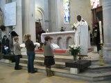 Remis aubes servants d'autel Paroisse Sainte Clotilde 25 novembre 2012