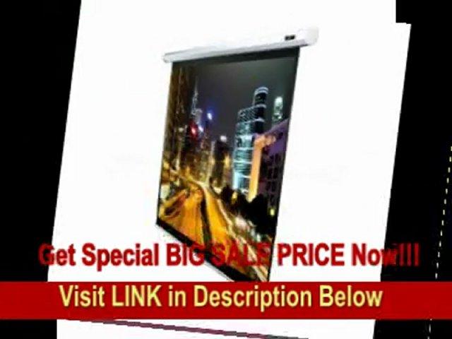 [BEST BUY] Elite Screens VMAX120XWH2-E24 VMAX2 Electric Projection Screen (120-Inch 16:9 Aspect Ratio) (24-Inch Drop)