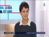 """Najat Vallaud-Belkacem invitée de """"La voix est libre""""Rhône-Alpes"""