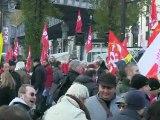 Manifestation des chômeurs et précaires le 1er décembre 2012