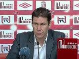 Conférence de presse LOSC Lille - SC Bastia : Rudi GARCIA (LOSC) - Frédéric HANTZ (SCB) - saison 2012/2013