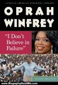 Biography Book Review: Oprah Winfrey: I Dont Believe in Failure (African-American Biographies (Enslow)) by Robin Westen