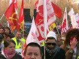 Défilé parisien des chômeurs et précaires le 1er décembre 2012