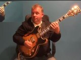 How to Play Guitar in Bossa Nova Jazz Style, using Jazz Standard Blue Bossa - GRP GUITAR LESSONS