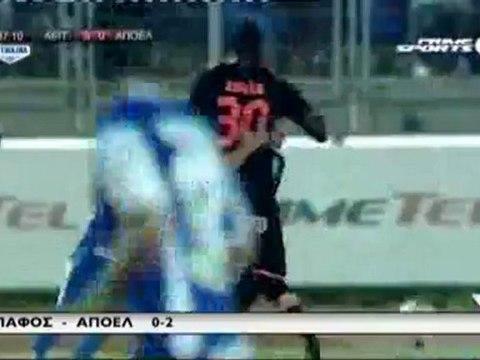 02.12.2012 - Αέπ Vs ΑΠΟΕΛ 0-2