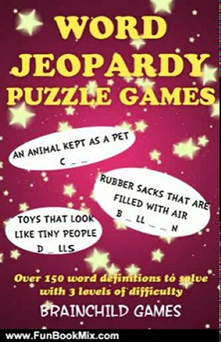 Fun Book Review: Word Jeopardy Puzzle Games by BRAINCHILD Games