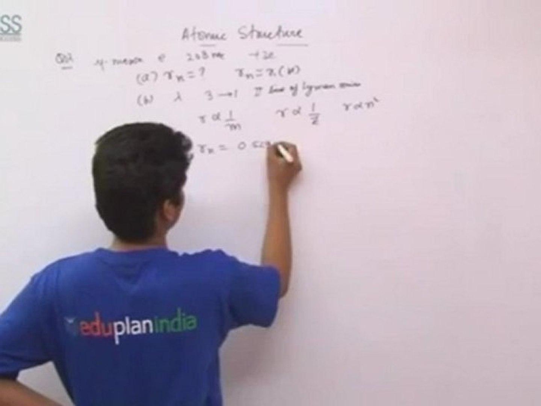 Atomic Structure - Plancess tutorials