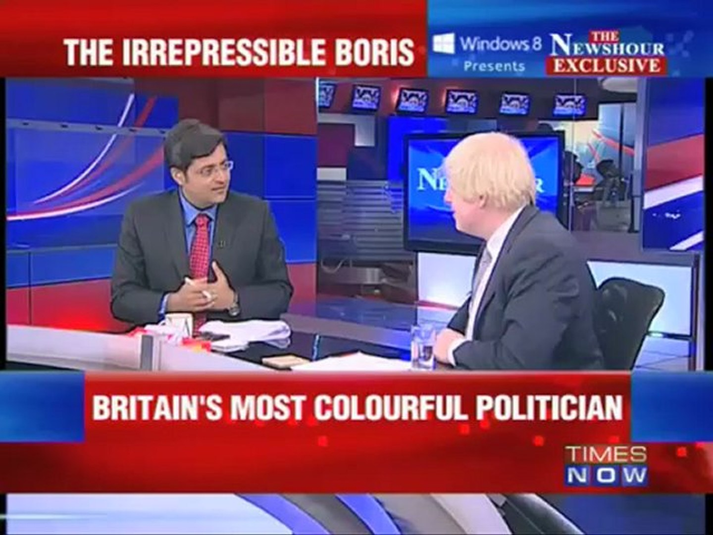 The Newshour Exclusive : Boris Johnson
