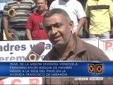Trabajadores de Misión Vivienda realizan huelga de hambre en Caracas