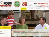 Greenville SC Heating and Air Companies - One Hour Services - Serving Greenville SC
