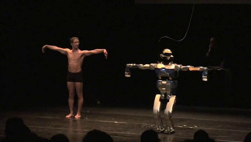 ROBOT et danse hip hop - HRP2 et Tayeb BENAMARA ***