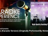Hollywood Karaoke - Animals (Karaoke Version) - Originally Performed By Nickelback