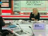 03/12 BFM : Le Grand Journal d'Hedwige Chevrillon - Alain Madelin et Jean-François Roubaud 1/4