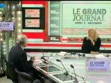 03/12 BFM : Le Grand Journal d'Hedwige Chevrillon - Alain Madelin et Jean-François Roubaud 3/4