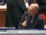 """Ayrault à Jacob : """"Président du groupe UMP... c'est ça ?"""""""