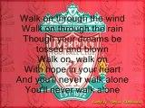 You'll Never Walk Alone: le chant des supporteurs de Liverpool
