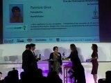 Patricia GROS - Prix de l'Entreprise Responsable Rhône-Alpes 2012