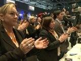Germany's Merkel re-elected CDU party leader
