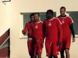 أجواء تربص المنتخب التونسي