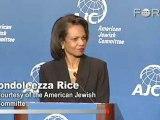Condoleezza Rice on Iran's Nuclear Ambitions