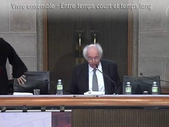 1-Dominique Méda - Vivre ensemble 2012 - cese