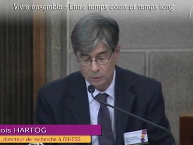 3-François HARTOG - Vivre ensemble 2012 - cese