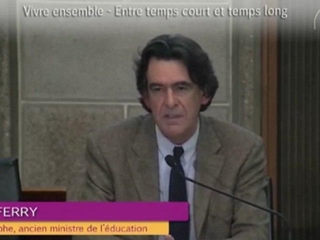 9-Grand témoin Luc Ferry - Vivre ensemble 2012 - cese