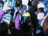Pacquiao and Marquez arrive in Las Vegas for fight