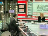 04/12 BFM : Le Grand Journal d'Hedwige Chevrillon - David Marcus et Claude Cazes 1/4