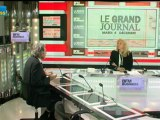 04/12 BFM : Le Grand Journal d'Hedwige Chevrillon - David Marcus et Claude Cazes 4/4