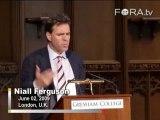 Niall Ferguson Applies Evolutionary Theory to Finance
