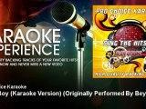 Pro Choice Karaoke - Baby Boy (Karaoke Version) - Originally Performed By Beyonce