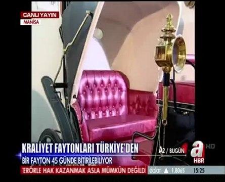 A Haber - Kraliyet Faytonları Türkiye'den