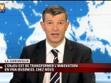 La France est 3e mondiale pour l'innovation, selon Thomson-Reuters