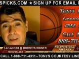 New Orleans Hornets versus LA Lakers versus Pick Prediction NBA Pro Basketball Preview 12-5-2012