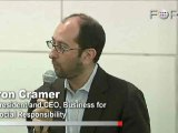 Aron Cramer Finds Hope in the Gloom of Davos Echo Chamber