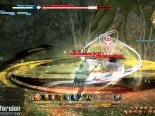 Quests and Combat (Alpha)  de Final Fantasy XIV: A Realm Reborn
