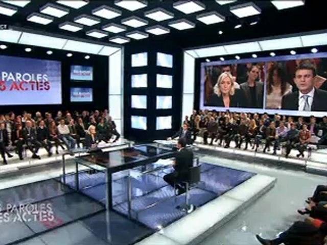 Le duel : Manuel Valls vs Marine Le Pen