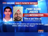 Punjab politician pleads 'self defence'