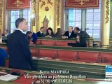 Bertin Mampaka avec 2288 voix je reste au service des Congolais et de tous les Bruxellois
